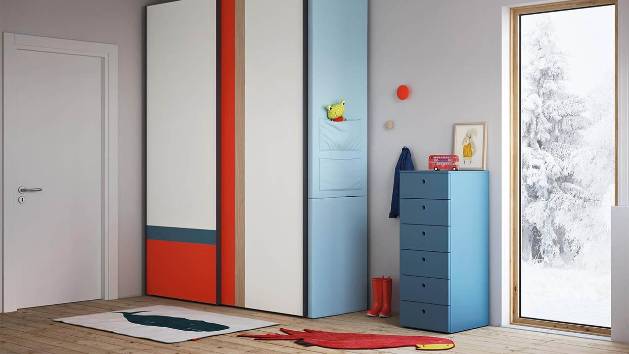 tecnoarredi arredamento interni camerette bambini nidi 1