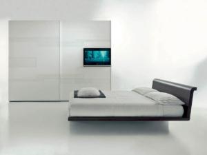 tecnoarredi arredamento interni zona notte armadio fimar emotion con porta tv 3