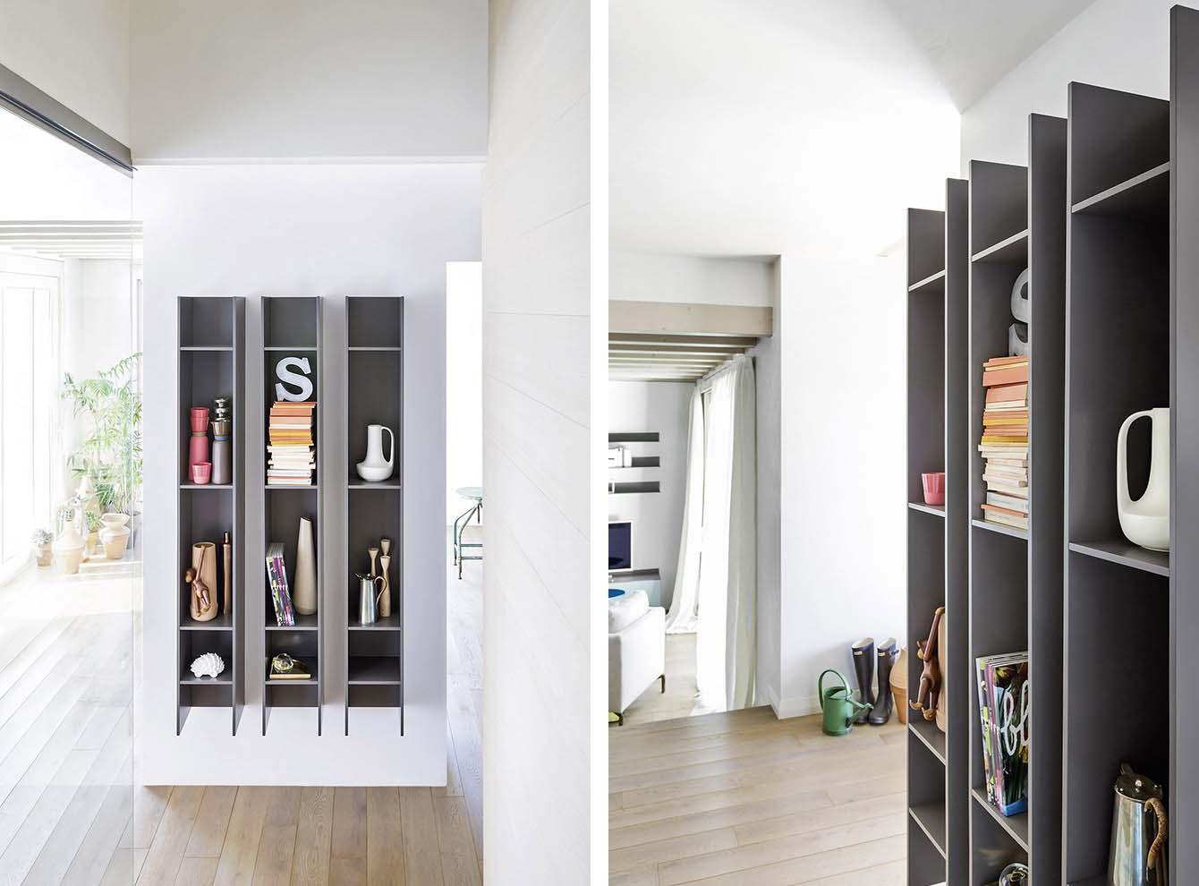 tecnoarredi arredamento interni zona giorno librerie novamobili 1