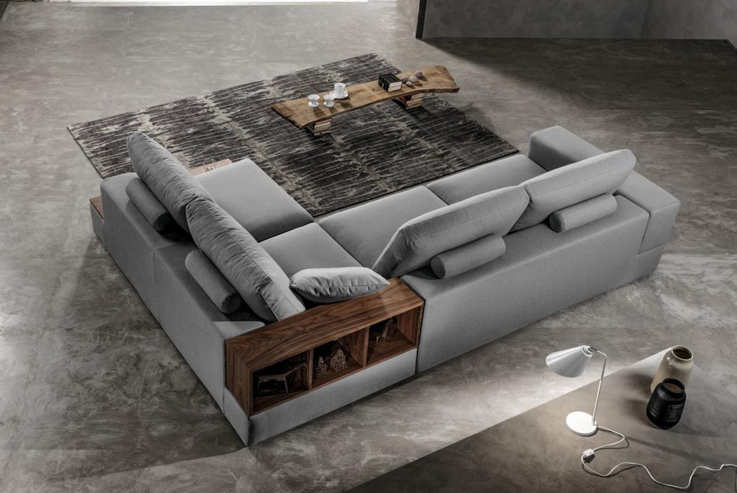 tecnoarredi arredamento interni zona giorno divano lerroy 2