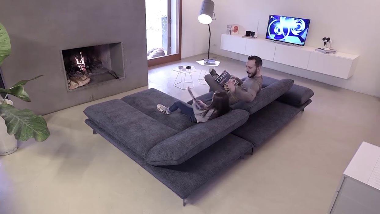tecnoarredi arredamento interni zona giorno divano rock 2