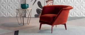 tecnoarredi arredamento interni zona giorno poltrona lovy armchair bonaldo 1